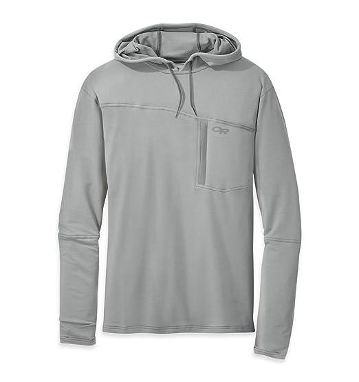 6be4298872 Amazon.com  Outdoor Research Men s Ensenada Sun Hoody  Clothing