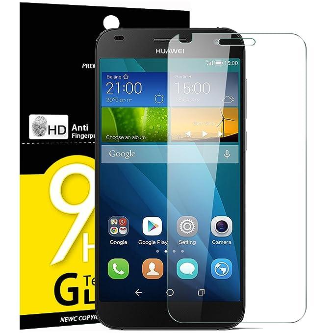 6 opinioni per Vetro Temperato Huawei Ascend G7, Pellicola Protettiva NEW'C® in Vetro Temperato