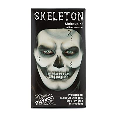 Mehron Makeup Premium Character Kit (Skeleton) : Costume Accessories : Beauty