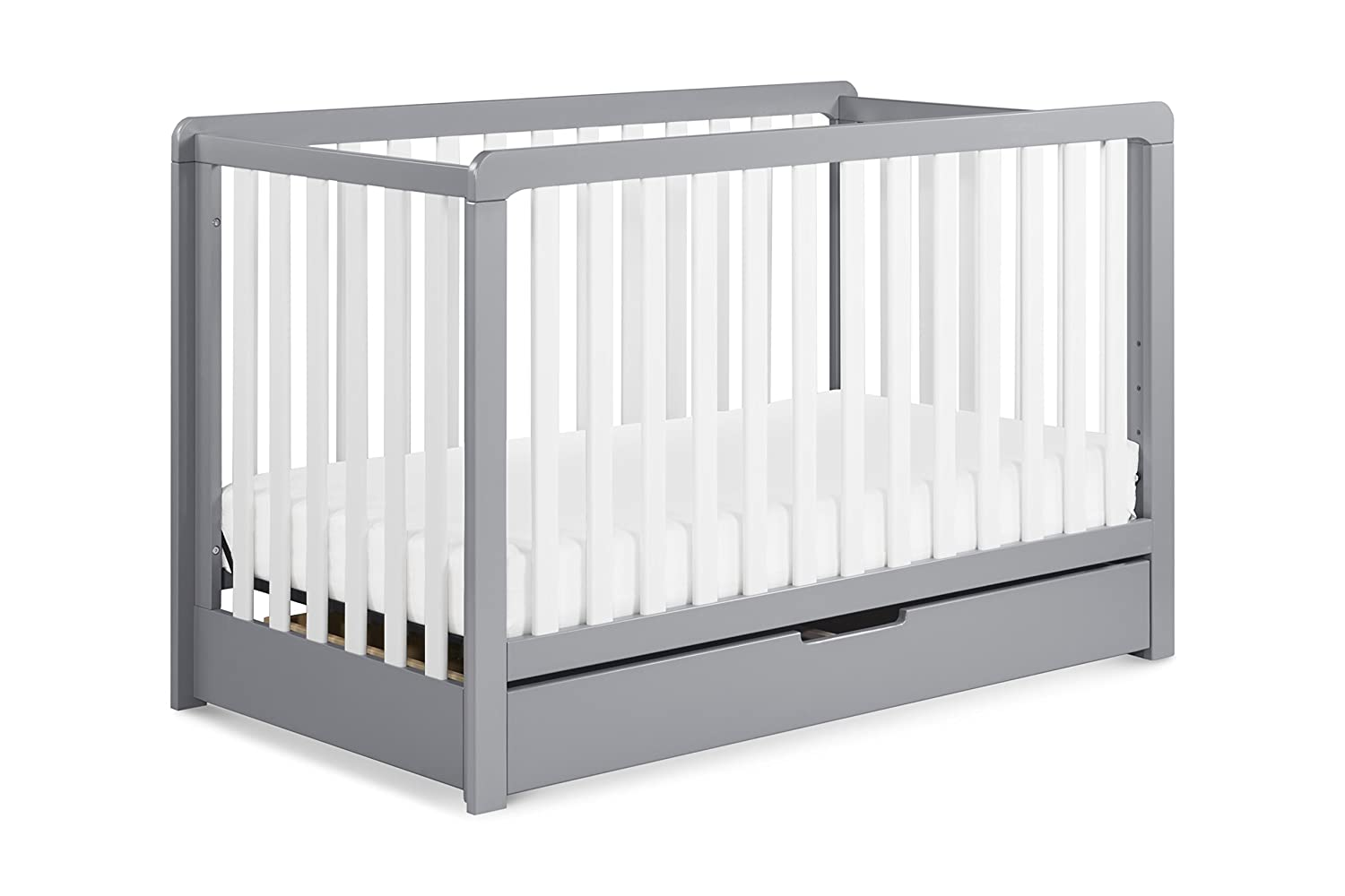 Carter's by DaVinci Colby 4-in-1 Convertible Crib with Trundle Drawer, Grey The MDB Family F11951G