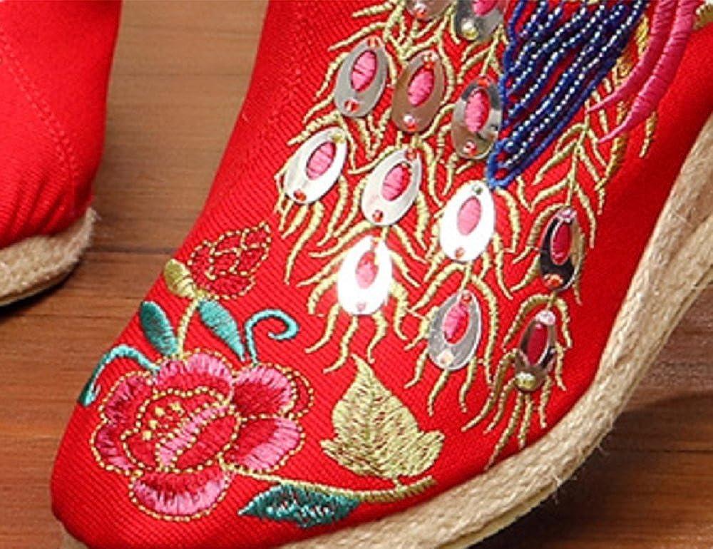 Tianrui Halbschuhe Crown , Damen Mary Jane Halbschuhe Tianrui Rot ab913e