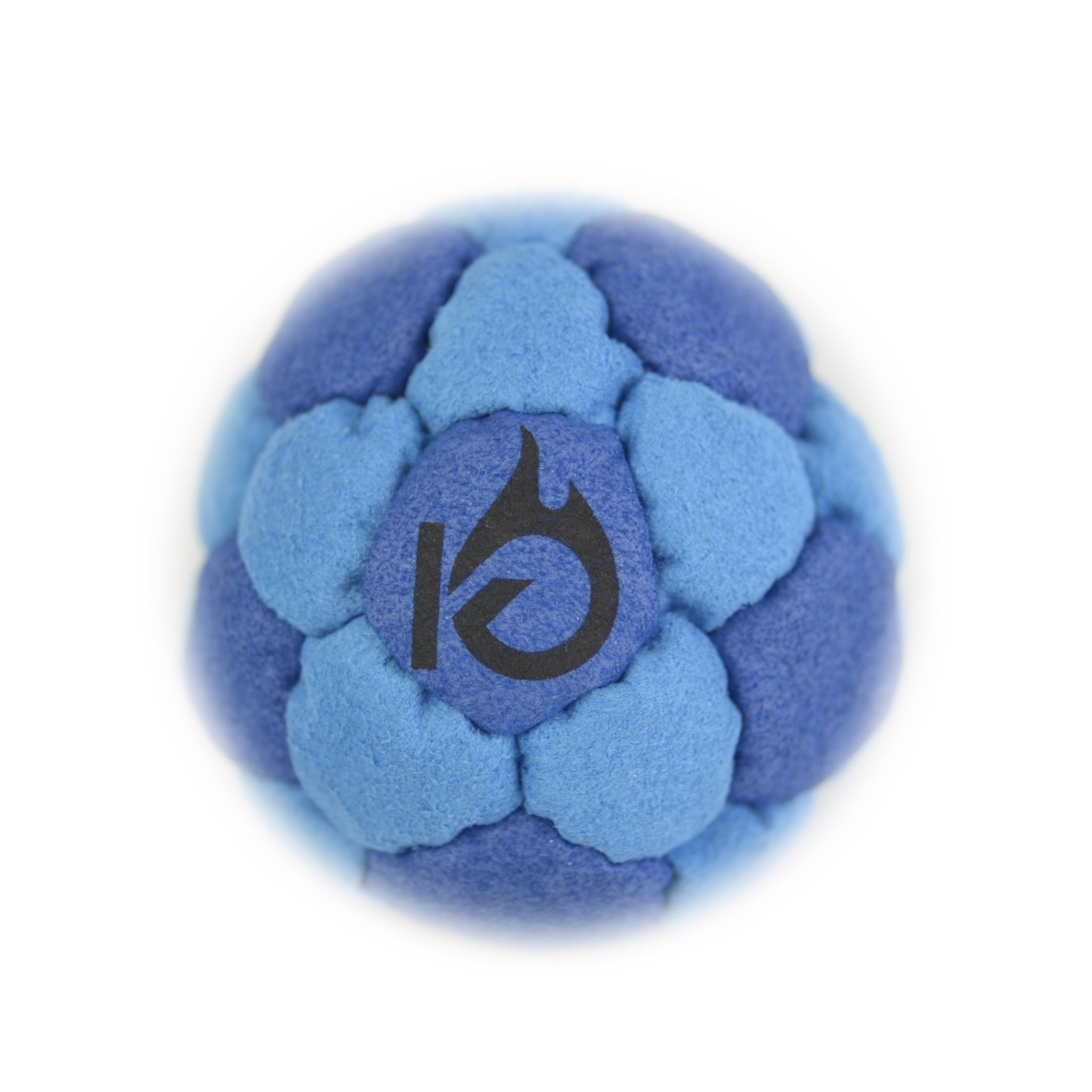 KickFire SuperSacks Ocean Swell Sand Filled Hacky Sack 16 Panel Leather Footbag | BONUS Video Quick Start Tips | Best for Kids, Teens and Adults
