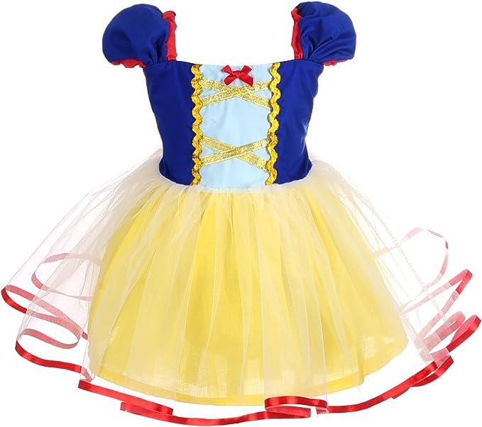 Amazon.com: Dressy Daisy Vestido infantil de princesas ...