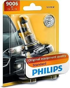 Philips 9006B1 Standard Halogen Headlight Bulb, Pack of 1