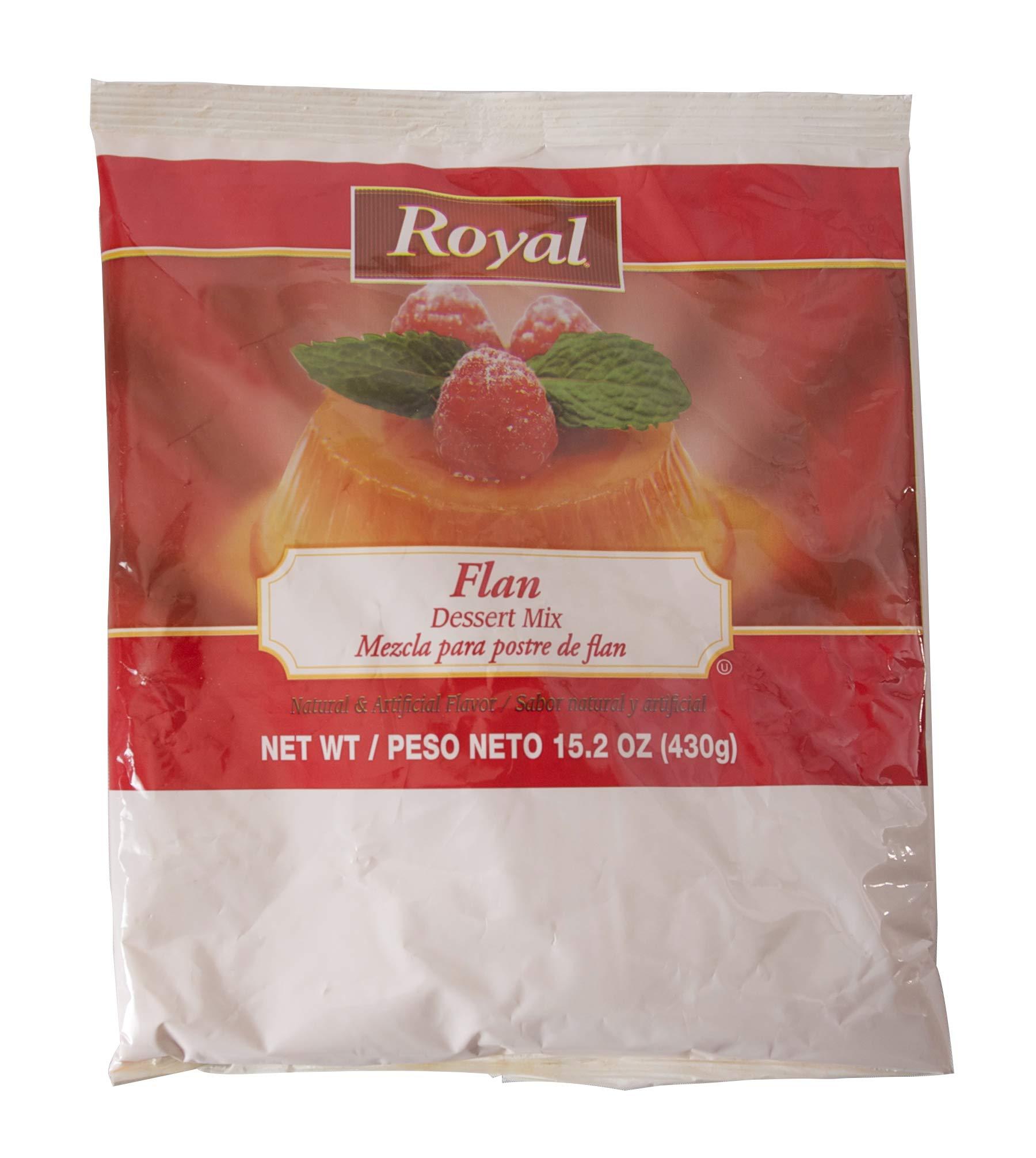 Royal Flan Custard Dessert Mix, 15.2 Ounce -- 12 per case