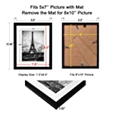 upsimples 8x10 Picture Frame Set of 10,Display