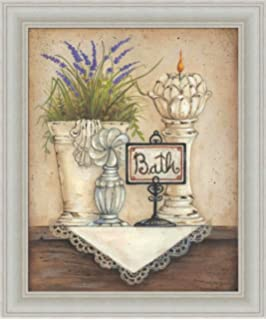 High Quality Bath By Mary Ann January Country Bathroom 10x12 In Art Print Framed Picture