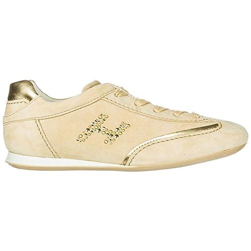 Hogan Sneakers Olympia Donna Vacchetta 39 EU  Amazon.it  Scarpe e borse 07c74ed7e7d