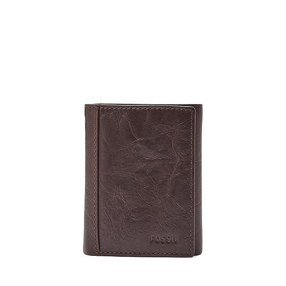 Fossil Men/'s Wade Bifold Black Wallet ML3883001