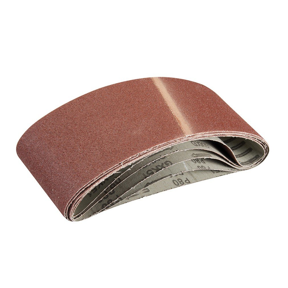Silverline 524993 5 bandes abrasives 10 x 330 mm Grain 120