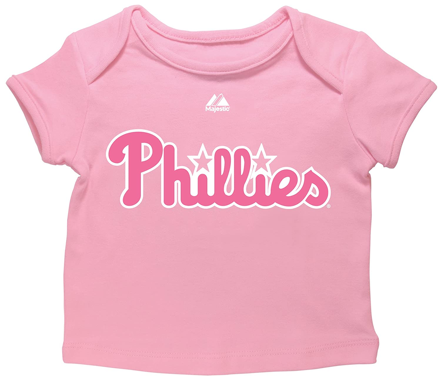 separation shoes 42249 2ea82 Majestic MLB Philadelphia Phillies Chase Utley #26 Newborn Girls' Player  Name And Number Envelope Tee By
