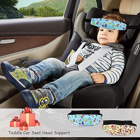 Tonstyle Kindersitz Befestigung Kopfband Einstellbare Kopfstütze Kindersitz Nackenstützen Autositz Befestigung Kinder Gurtschutz Kopfhalterung Hilfe Baby Schlaf Riemen Kopf Halter 2 Stück Baby