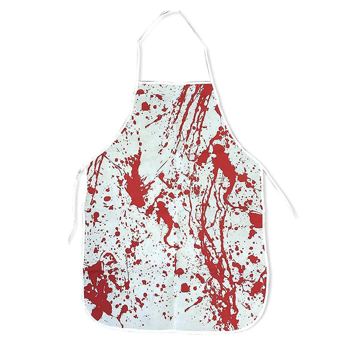 The Twiddlers Halloween Bloody Apron – Realistic Blood Stained Kitchen Apron – Perfect Costume or Accessory for Fancy Dress Party