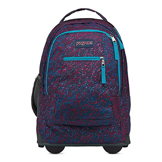 56ae2d156524 Amazon.com  Jansport Driver 8 Rolling Laptop Backpack - Electric ...