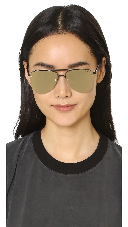 5a2601ee0e7 Amazon.com  Le Specs Women s The Prince Mirrored Sunglasses