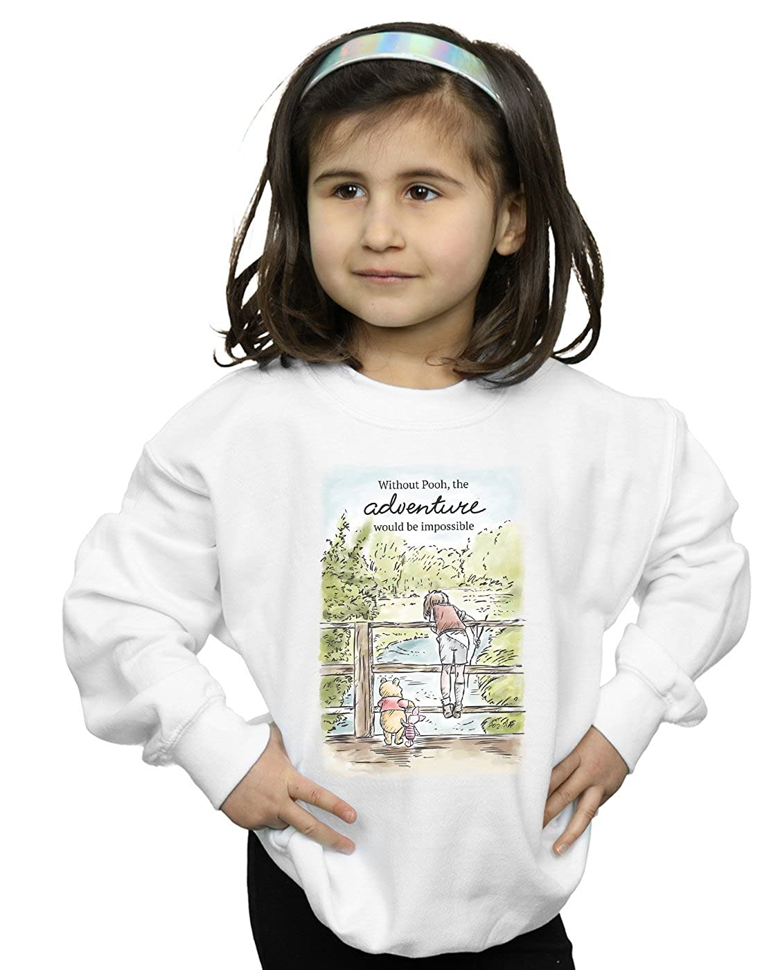Disney Girls Winnie The Pooh Adventure Sweatshirt Absolute Cult