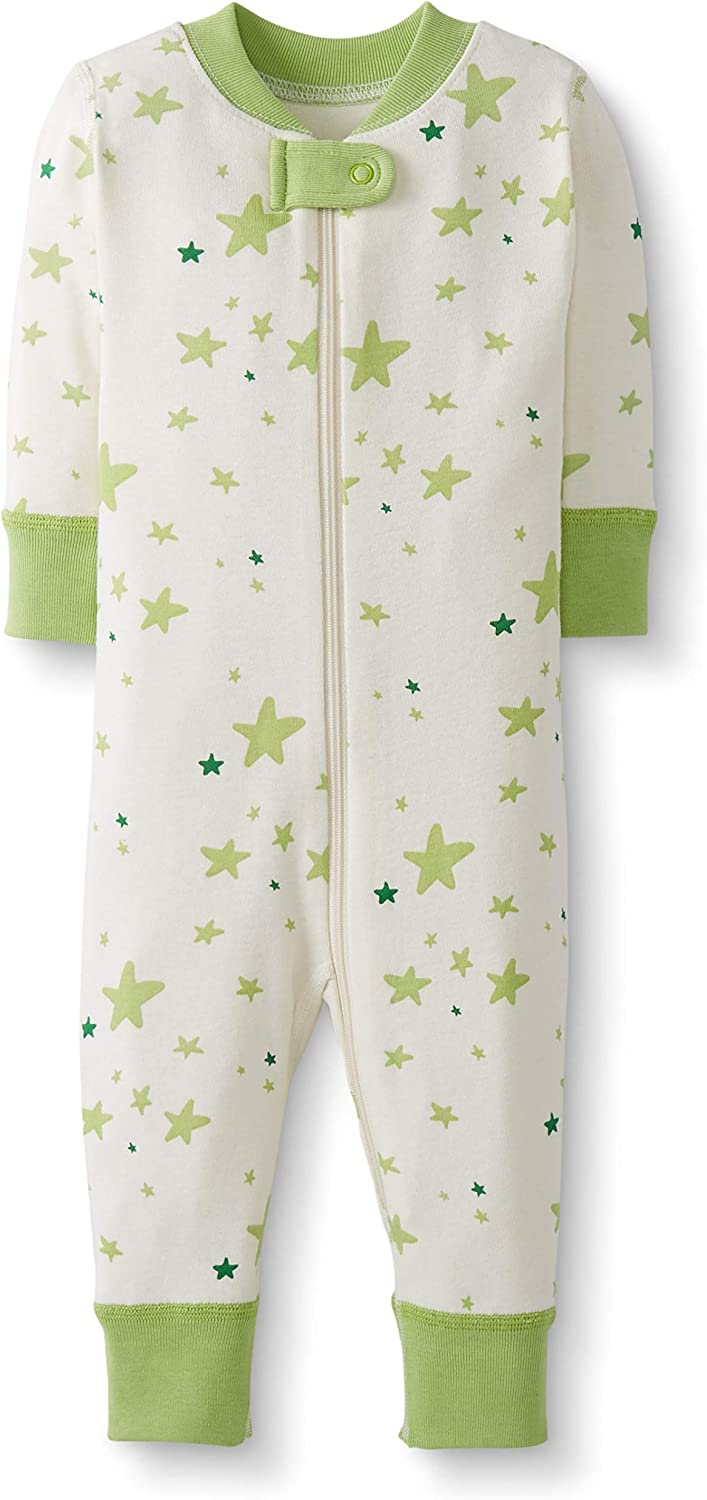 Moon and Back by Hanna Andersson One Piece Footless Pajamas Mixte b/éb/é