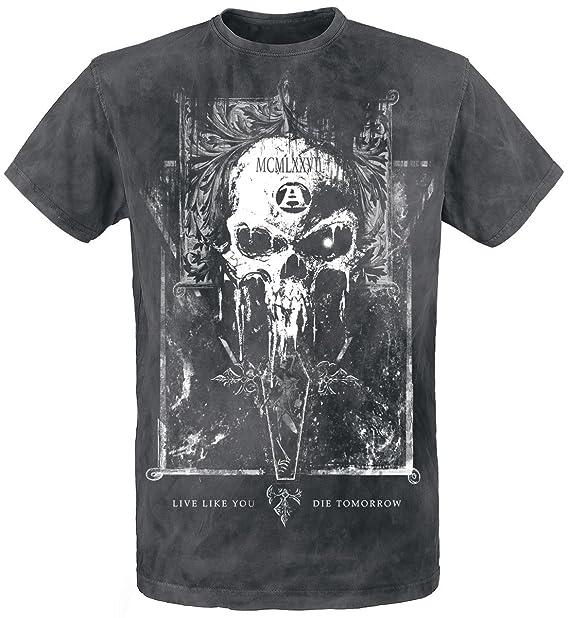 Mortis Capitas Camiseta Negro Alchemy England mGduwLCwH1