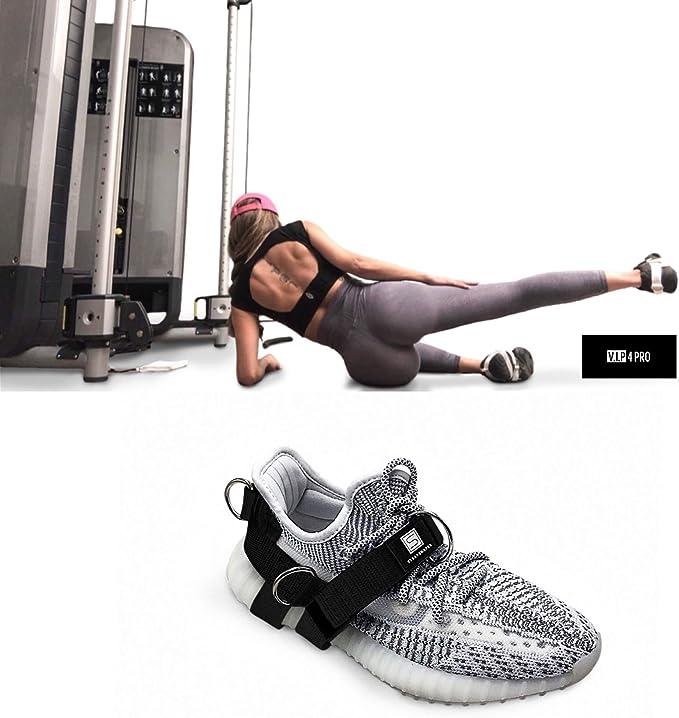 Praktische D Ring Ankle Anchor Straps Gürtel Bein Krafttraining Gym Tools