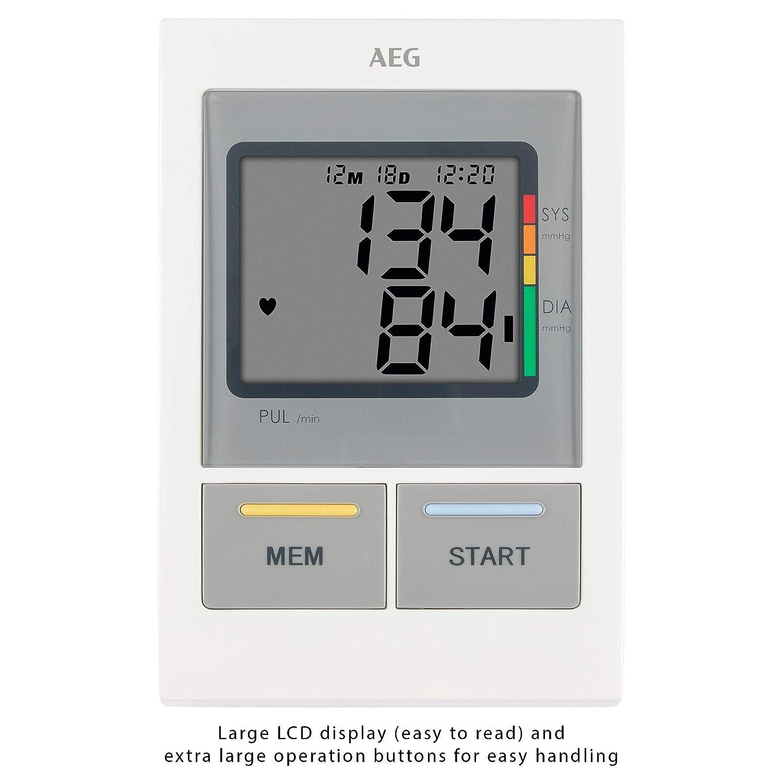 Amazon.com: GERMAN AEG BMG5612,NEW MODEL BLOOD PRESSURE MONITOR by AEG: Health & Personal Care
