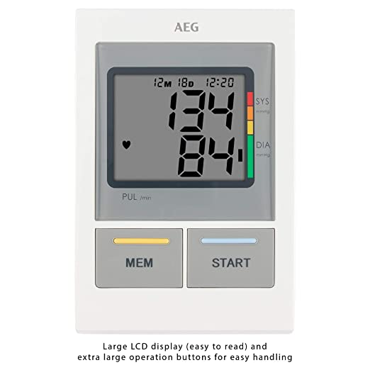 Amazon.com: GERMAN AEG BMG5612,NEW MODEL BLOOD PRESSURE MONITOR by AEG: Health & Personal Care