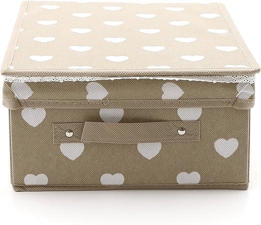 Caja almacenaje de 28 x 33 x 16 cm: Amazon.es: Hogar