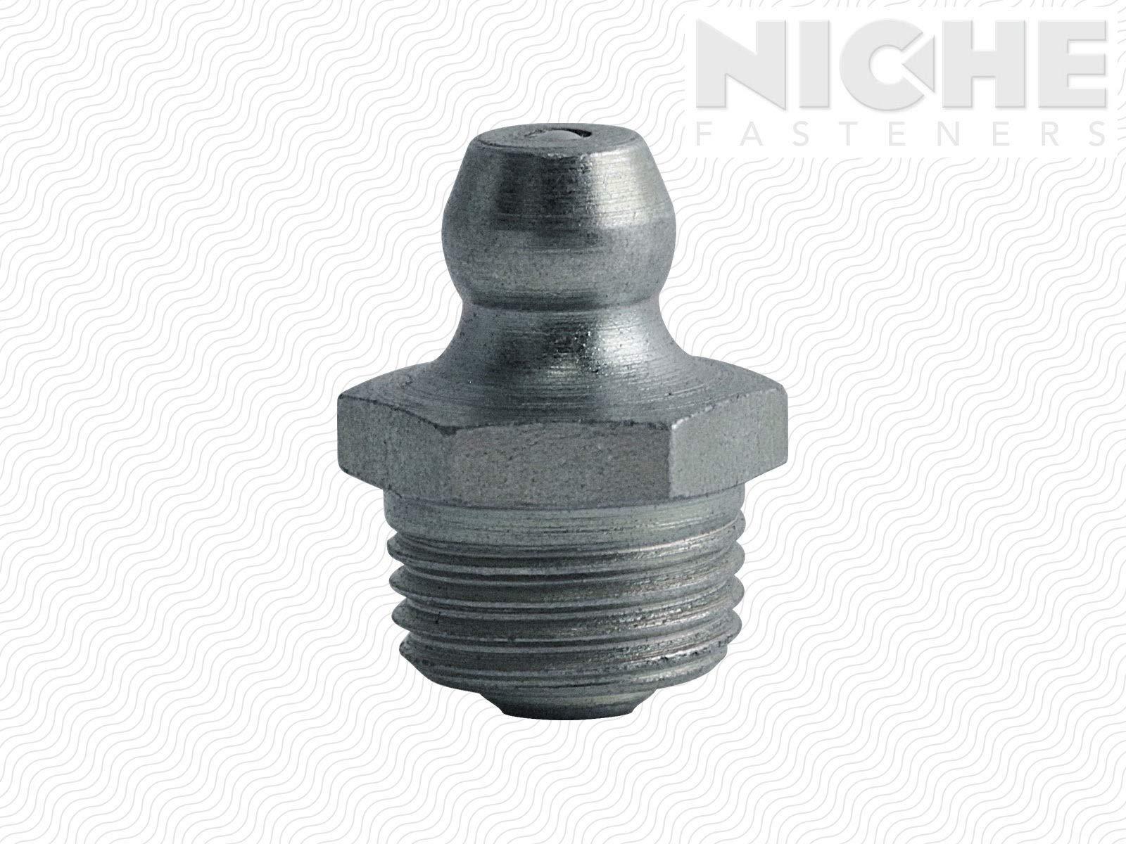 Grease Fitting Zerk 1/8-27 PTF Steel ZC Triv (100 Pieces)