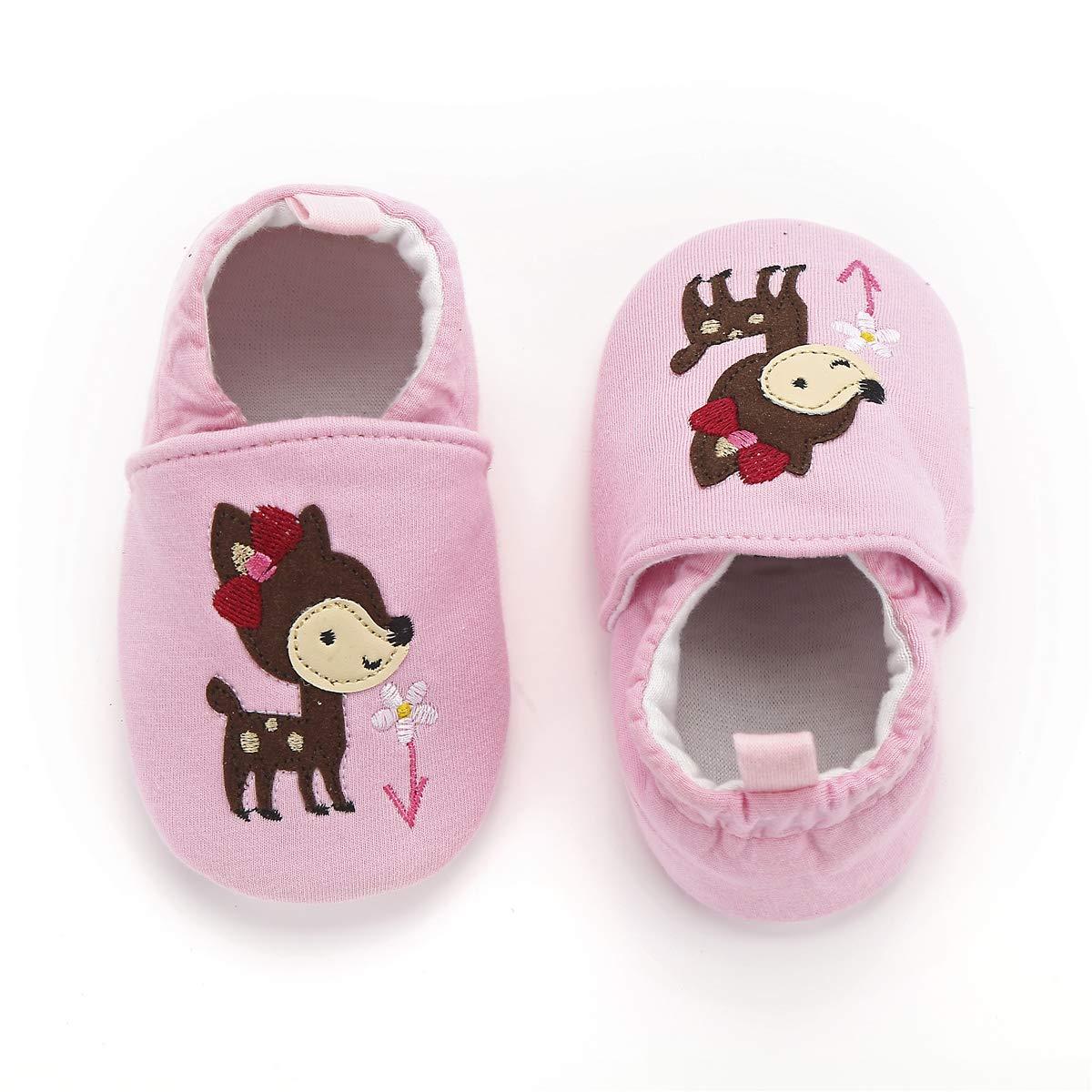 Fox First Walker Cloth Baby Shoes Toddler Mocassins Infant Prewalker for Girl Boy