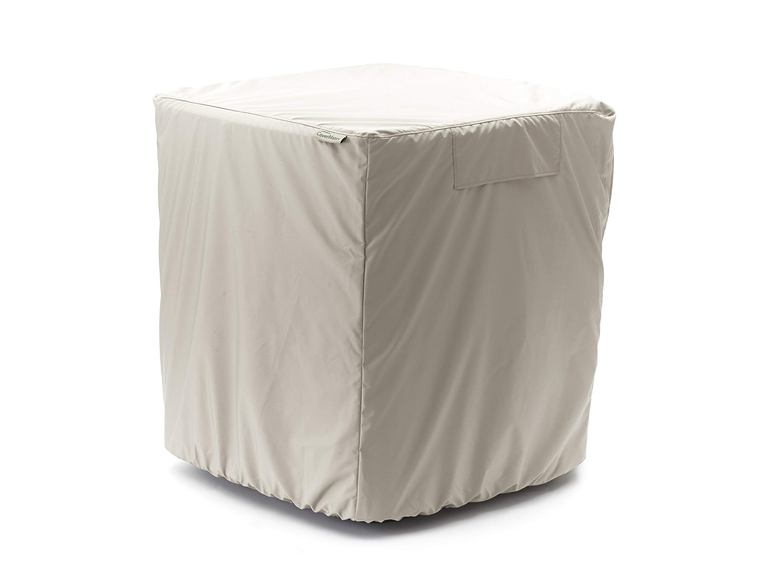 Covermates - Air Conditioner Cover - AC Cover for Outdoor Protection - Water Resistant and Weatherproof - Khaki by Covermates