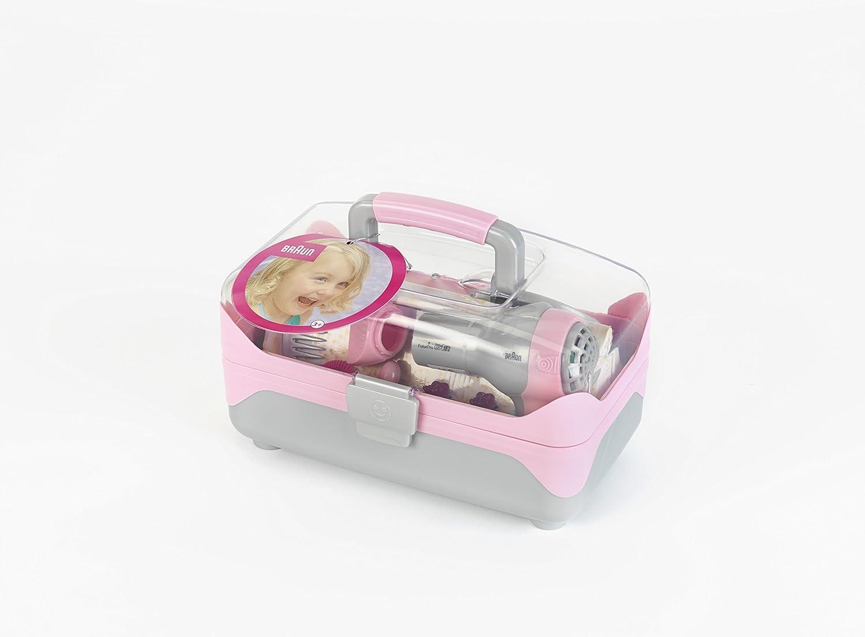 Theo Klein-5862 Braun maletín de Belleza con secador, Juguete, THEOK 5862: Amazon.es: Juguetes y juegos