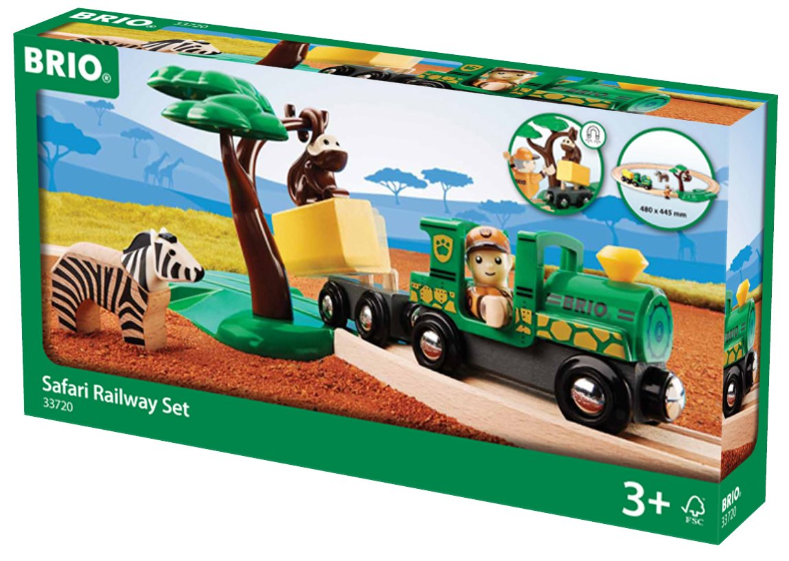 BRIO World - Safari Railway Set 33720