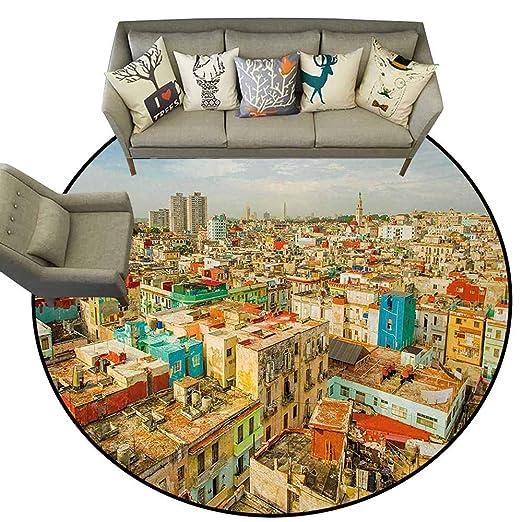 Felpudo de Viaje con diseño Cuadrado Principal de la Ciudad ...