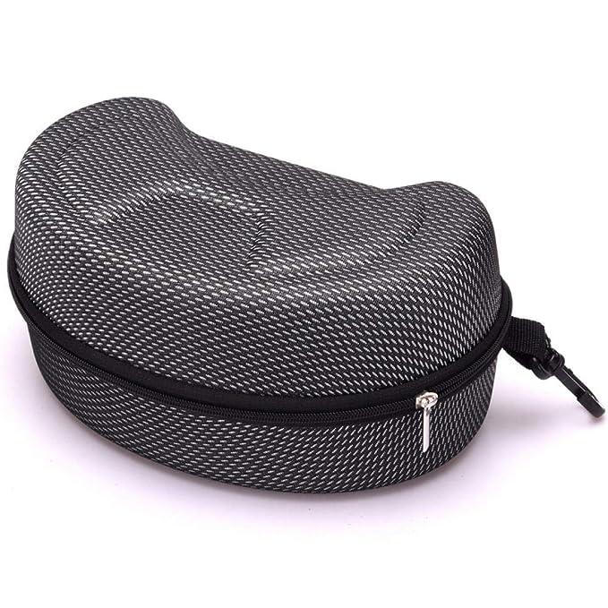 uliaadela Estuche para lentes extra grande y juego de tela de microfibra, cubierta protectora dura para gafas y gafas de sol