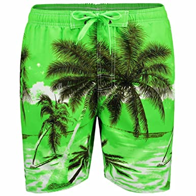 1274ad679f Mens Beach Shorts Quick Dry Swim Trunks for Men with Pockets Surfing  Swimming Watershort,Men's