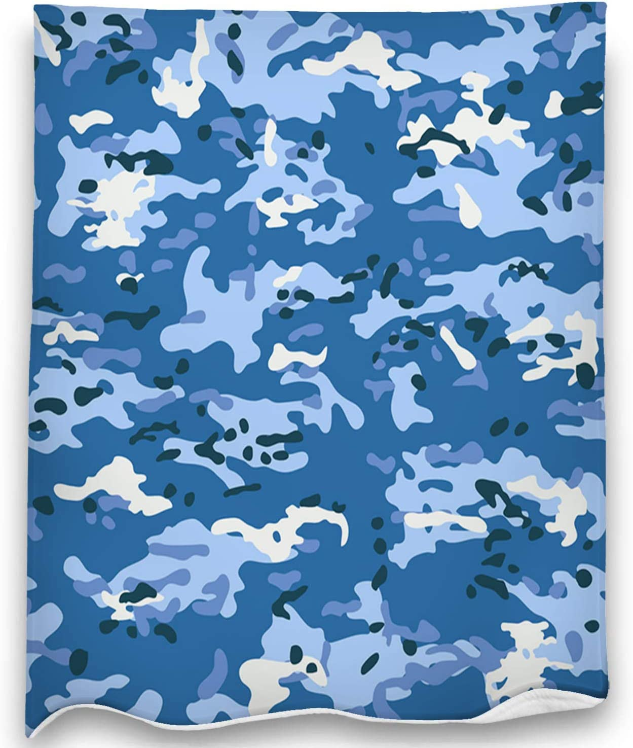 """Kkyoxdiy Ultra-Soft Micro Fleece Blanket Multicam Camouflage Seamless Patterns Soft and Warm Throw Blanket for Bed Or Couch 80""""x60"""""""