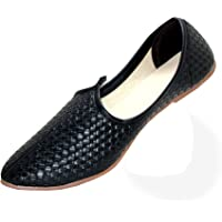 Harvey Men's Classic Leather Juttis Shoes