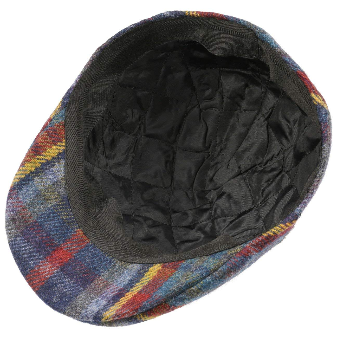 Made in Italy Lierys Tirreno Harris Tweed Flat Cap Men
