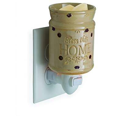 Candle Warmers Etc. Pluggable Fragrance Warmer, Bless This Home
