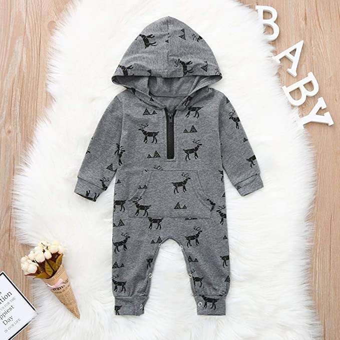Toddler Baby Boys Girls Long Sleeve Plaid Hooded Pullover Tops+Pants 2PCs Clothing Set Oldeagle Baby Outfits
