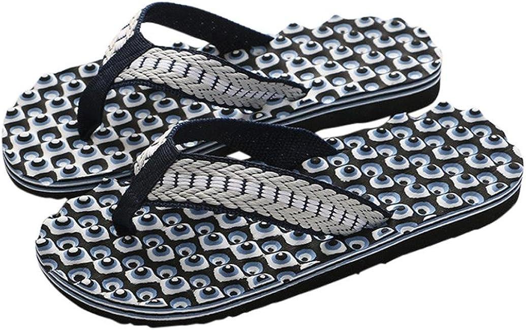 Chanclas Hombres Xinantime Zapatos de Hombre Sandalias de Verano C/ómodas Chanclas de Masaje Zapatilla Masculina Chanclas Interiores y Exteriores