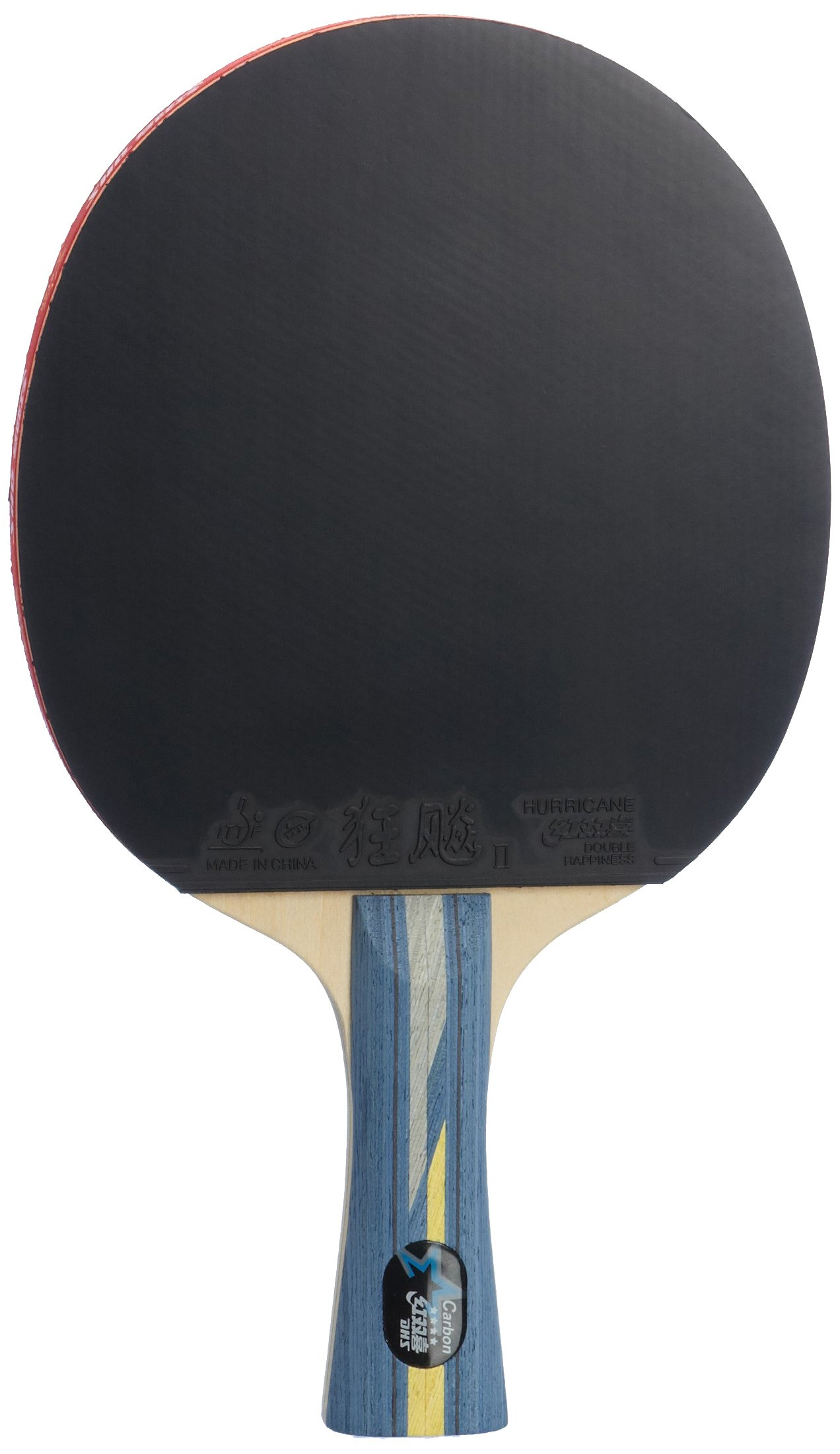 DHS Professional Quick-attack X Series Carbon Table Tennis Racket-shakehand by DHS