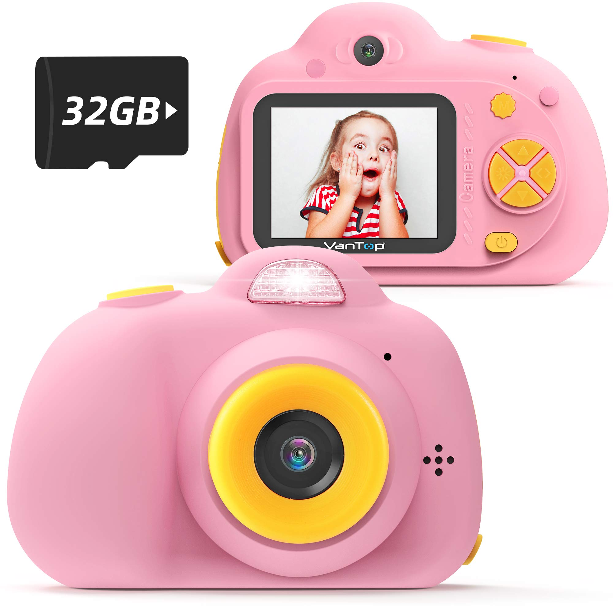 VanTop Junior K5 Kids Camera 1080P HD Mini Video Camera for Children