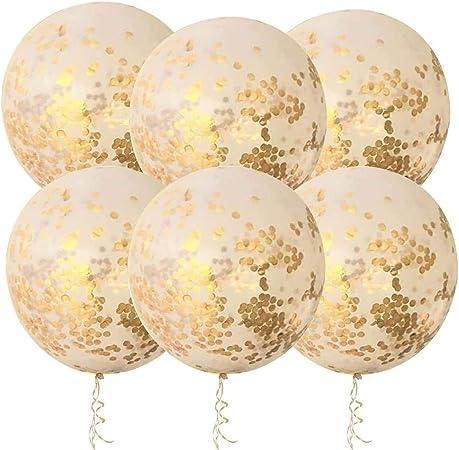 12/'/' Glitter Colorful Confetti Latex Balloons Helium Birthday Wedding Party Xmas