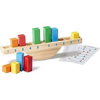 Amazon.com: Melissa & Doug ABC-123 Abacus - Classic Wooden ...