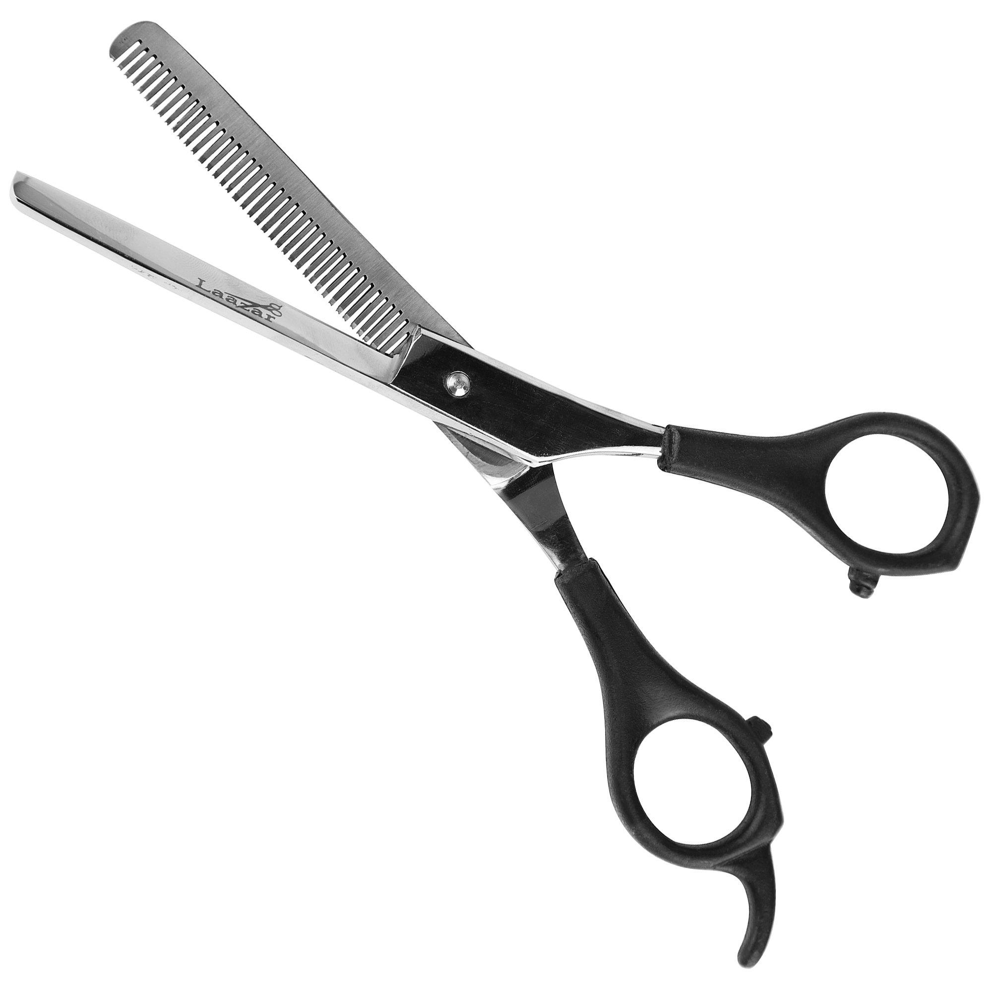 Laazar 6.5'' 42 Teeth Thinning Dog Shear, Pet Grooming Scissors