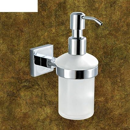 Todos los baños baño de cobre dispensador de jabón Square/Desinfectante para las manos portavasos