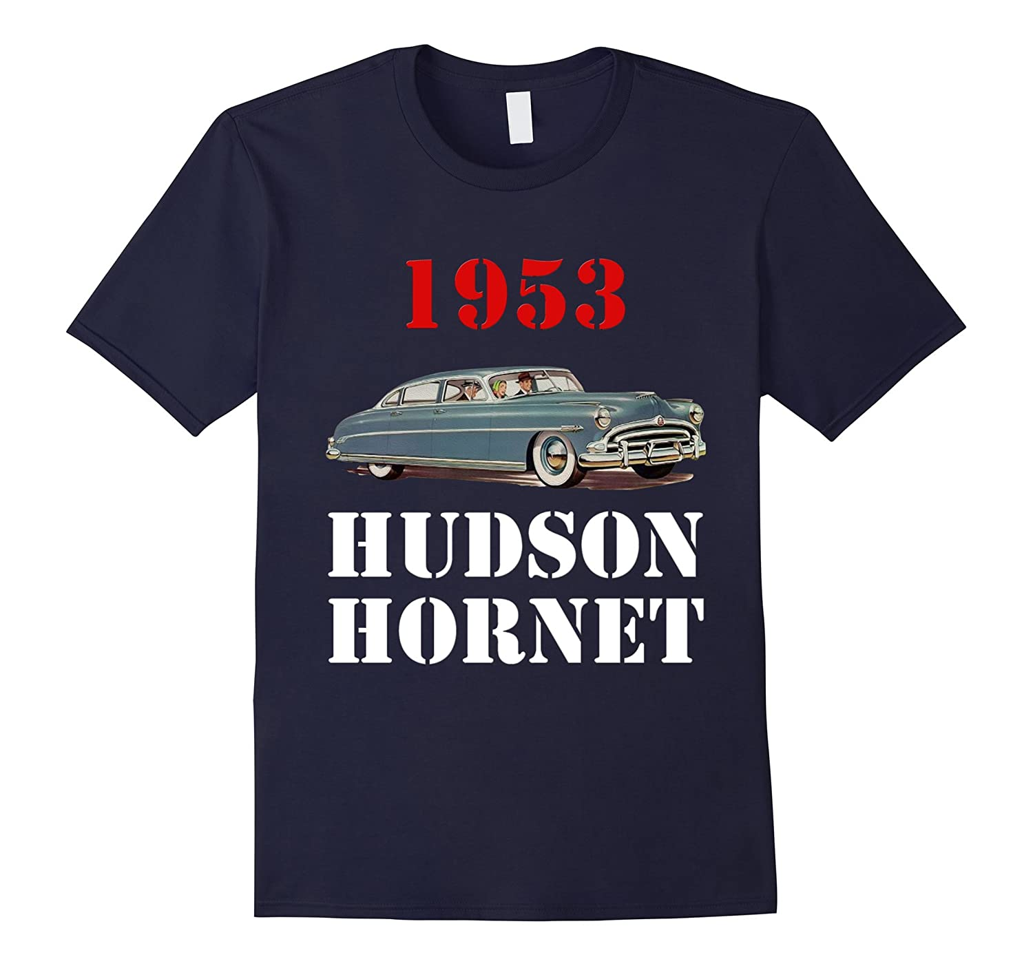 1953 Hudson Hornet Incredible Design T-shirt-TH