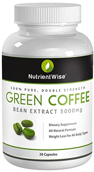 100 pure green coffee bean extract uk