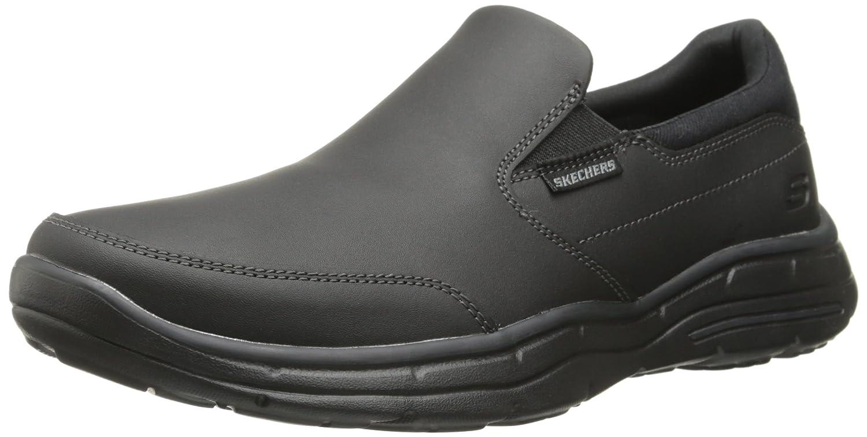 Skechers Glides-Calculous, Zapatillas de Entrenamiento para Hombre 45 3E EU|Negro