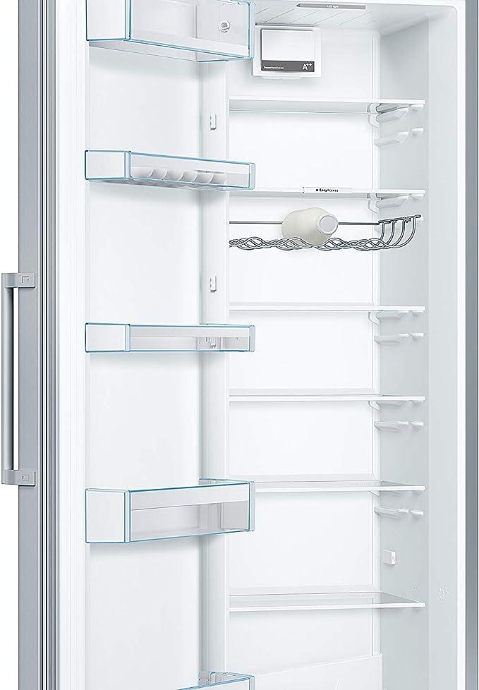 Bosch Serie 4 KSV36VL3P Independiente 346L A++ Acero inoxidable - Frigorífico (346 L, SN-T, 39 dB, A++, Acero inoxidable): Amazon.es: Grandes electrodomésticos